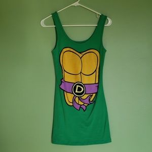 Mighty Fine TMNT Donatello Tank Dress